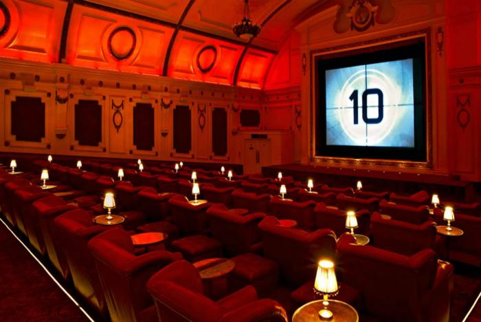 Electric Cinema, Ноттинг Хилл, Лондон.