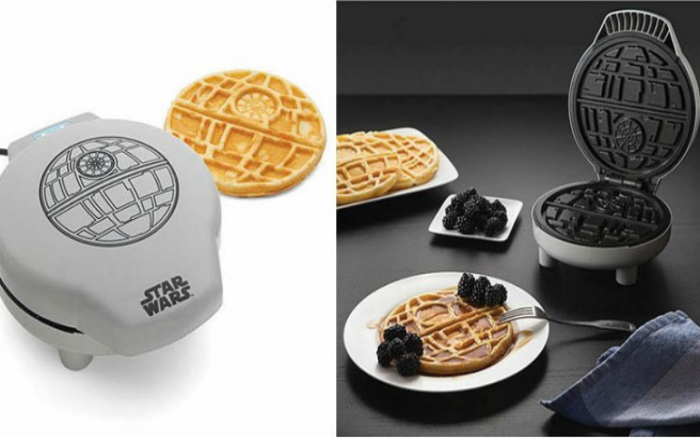 Стильная вафельница для фанатов «Звездных воин».