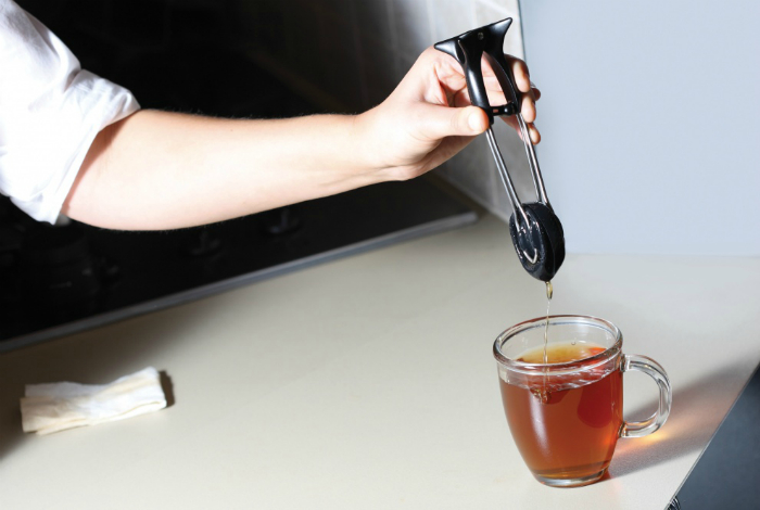 Устройство для быстрого заваривания чая.