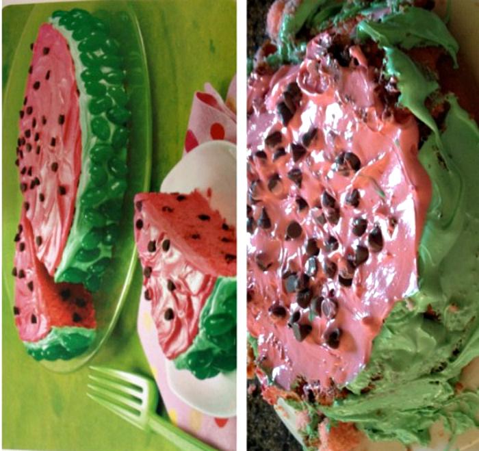 Тортик «Арбуз».