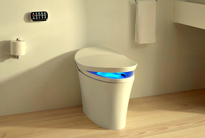 Умный унитаз Kohler Numi toilet.