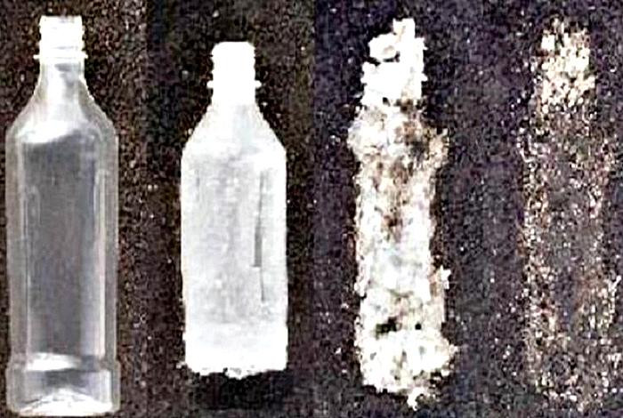 Разлагающийся пластик.
