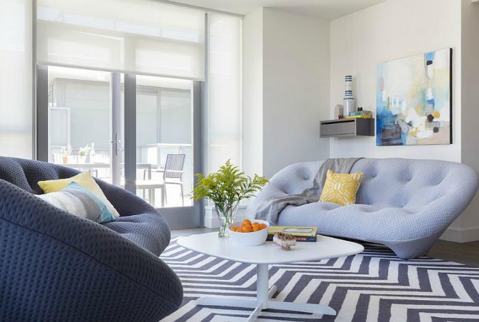 Комфортная и современная мягкая мебель.