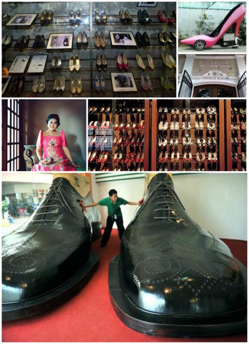 Музей обуви, Манила, Филиппины.
