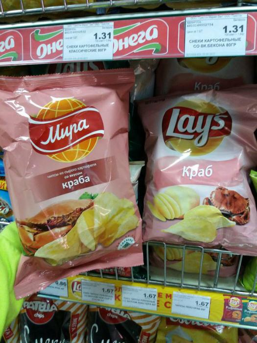 Отечественные чипсы.