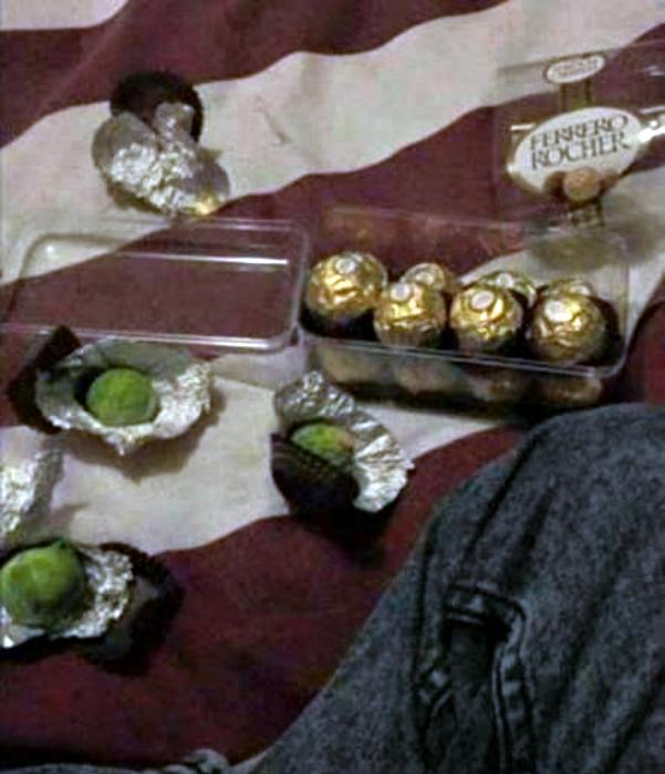 «Вкусные» конфетки.