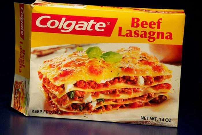 Замороженные ужины от Colgatе.