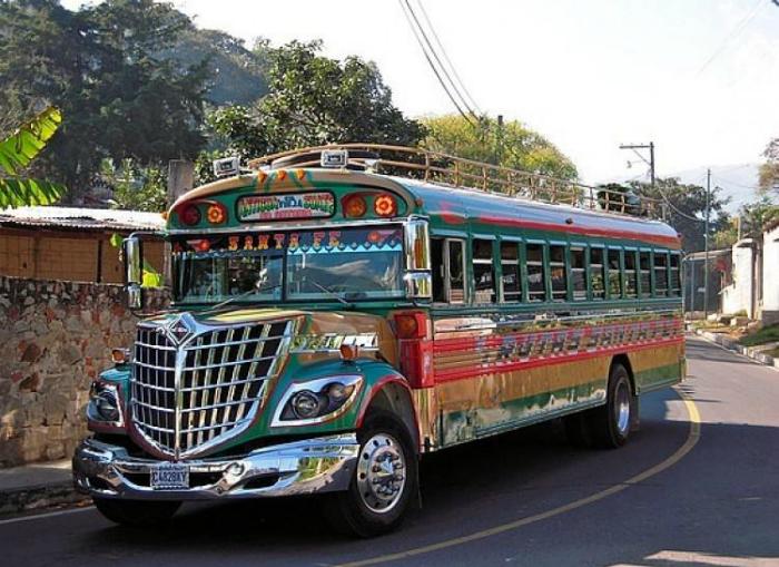 Роскошный автобус.