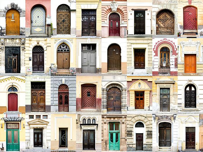Входные двери Румынии.