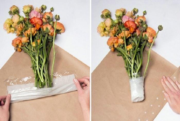 Продлить жизнь букету цветов.