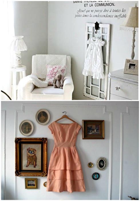 Одежда для декора стен.