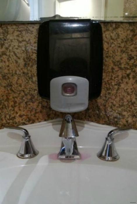 Дозатор для мыла.