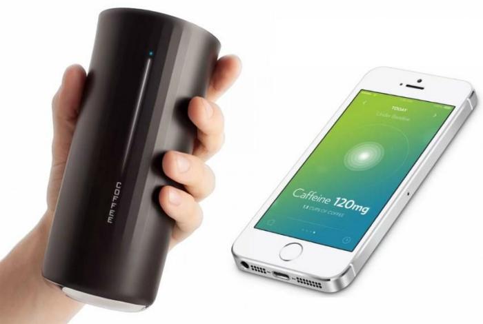 Умный стакан Vessyl сканирует и анализирует состав напитков и передает эту информацию на смартфон владельца.