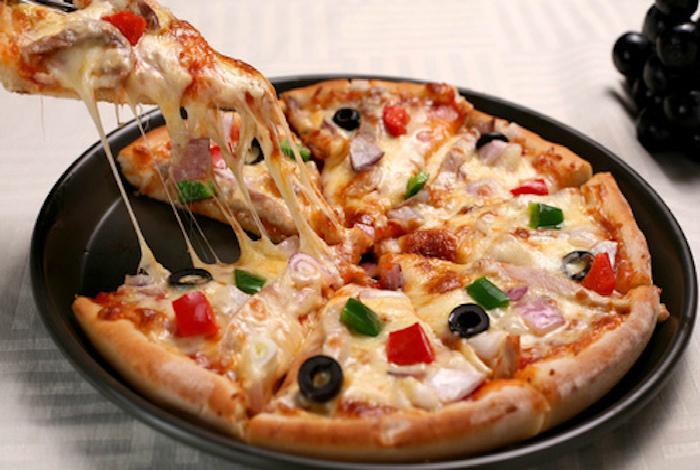Быстрая пицца на сковородке. | Фото: LiveInternet.