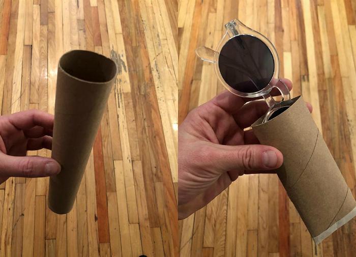 Альтернативный футляр для очков. | Фото: Reddit.