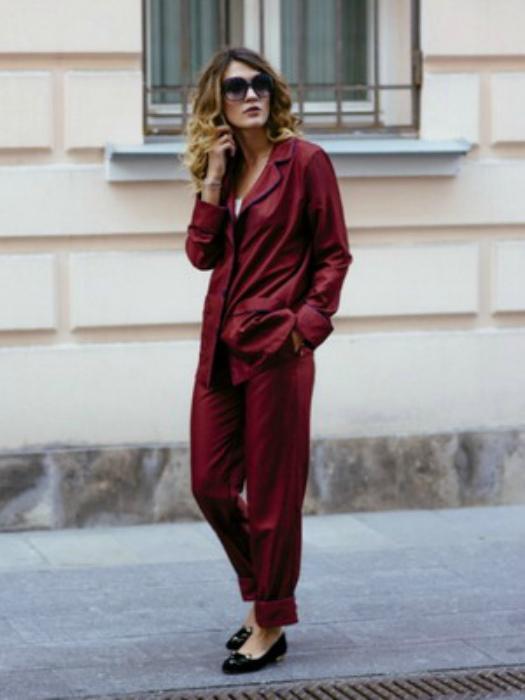 Пижамный стиль в одежде. | Фото: cross-media.org.ua.