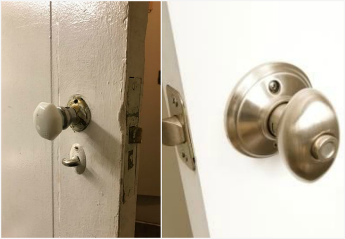 Эволюция дверной ручки.