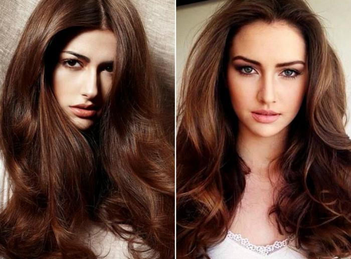 Модный цвет волос.