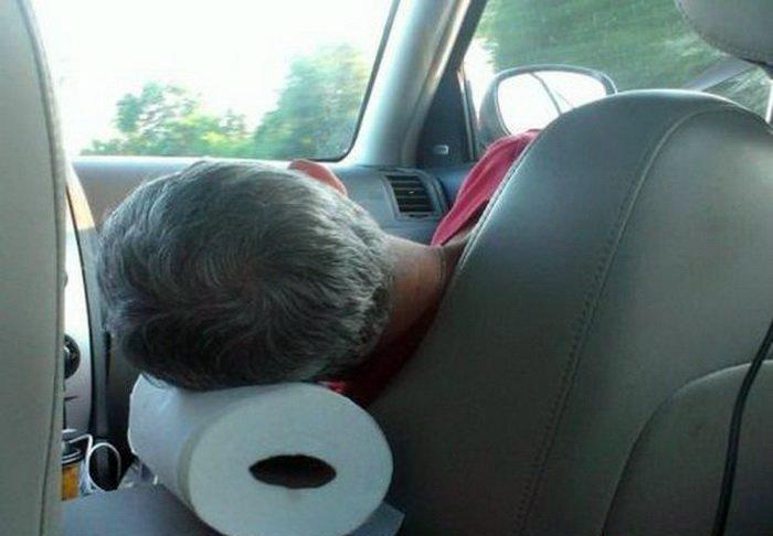 Мягкая подушка.