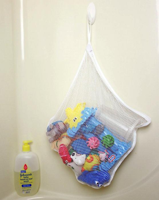 Сумка для игрушек в ванну.