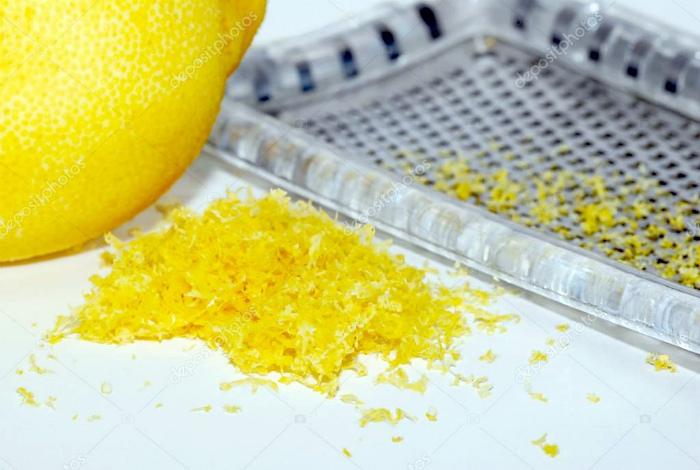 Натуральный ароматизатор из лимонной цедры.
