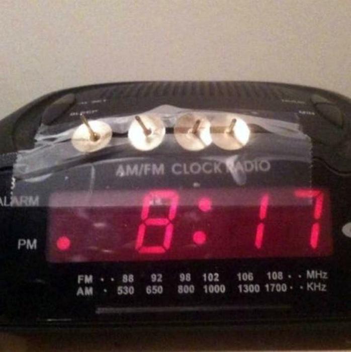 Эффективный будильник.