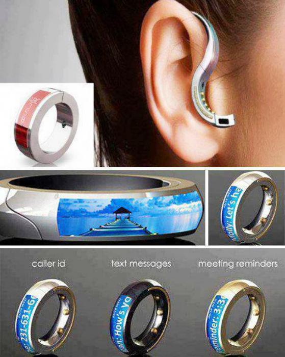 ORB auricular Bluetooth, que se transforma en un anillo.