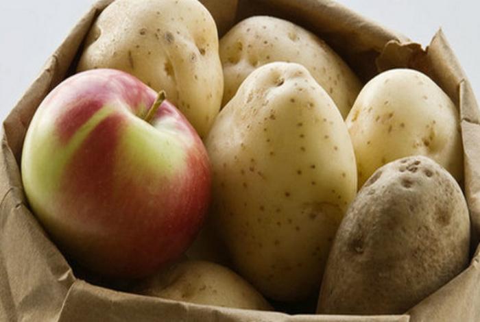 Где хранить картошку.