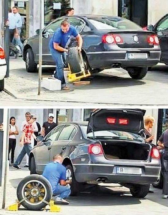 Мужчина не платит штраф, мужчина решает проблему! | Фото: Diply.