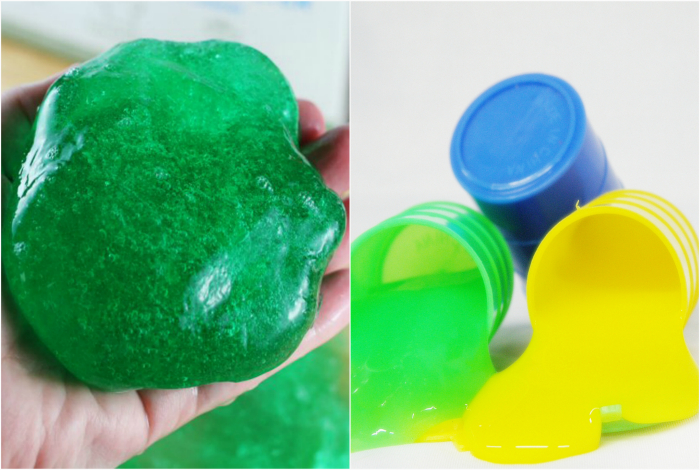 Забавные разноцветные лизуны были любимыми игрушками всех детей.