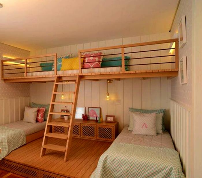 Размещение детских кроватей. | Фото: Proyectos Habitissimo.
