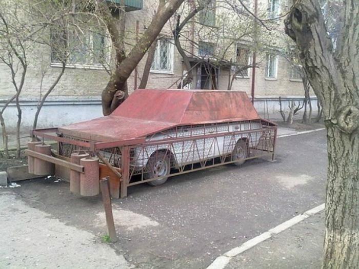 Машина в железном гараже как узаконить гараж построенный в советское время