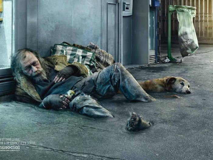 Социальный проект, который привлечет внимание общественности к проблемам бездомных.