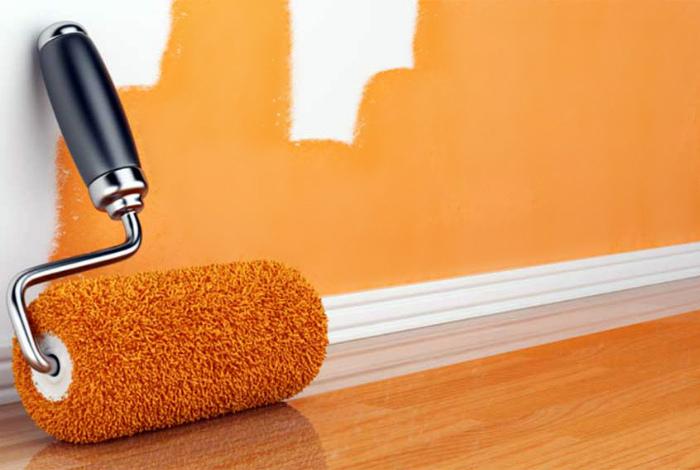 Специальная краска или шпаклевка. | Фото: Optimus.