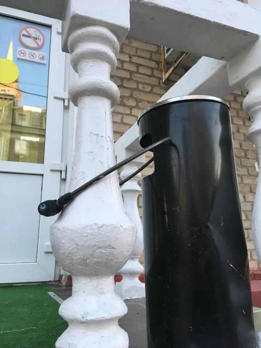 Колонну-то не умыкнут! | Фото: Urod.ru.