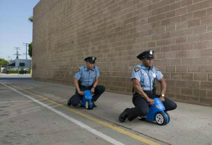 Вот она - настоящая полицейская погоня.