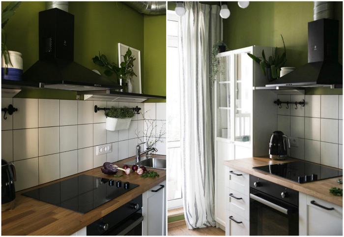 Кухня без верхних шкафчиков. | Фото: InMyRoom.
