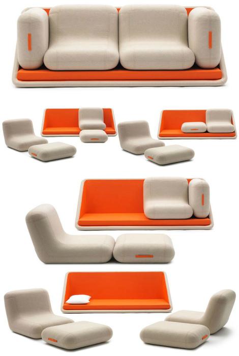 Многофункциональный диван.