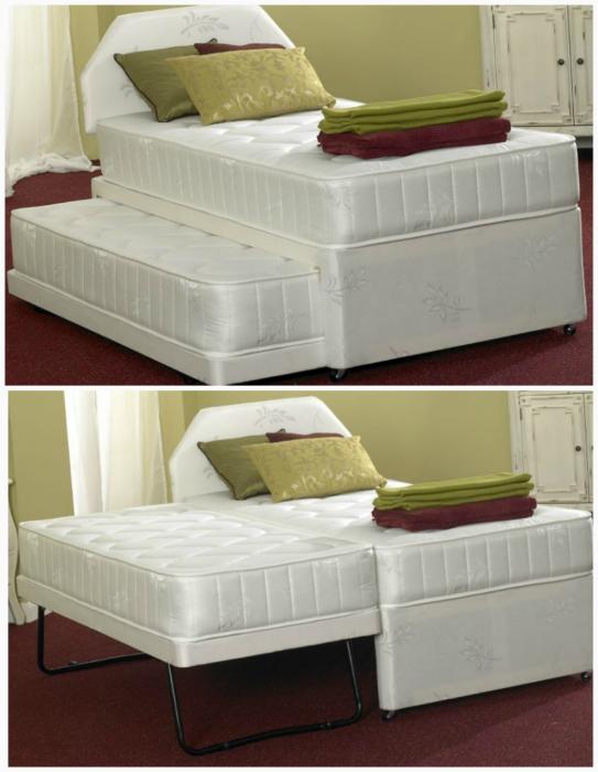 Две кровати в одной.