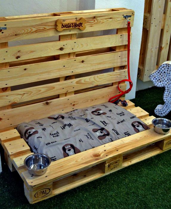 Лежанка для домашнего любимца. | Фото: Anshuan.info.