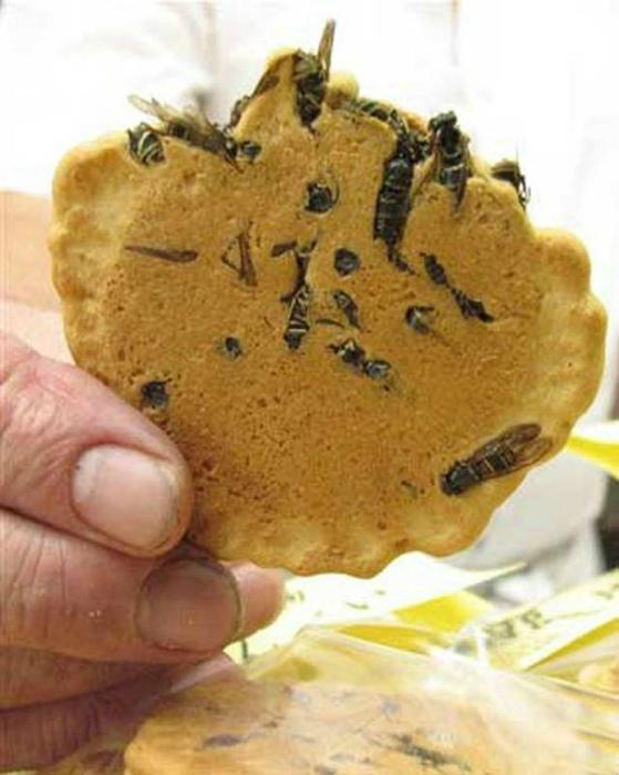 Печенье с осами.