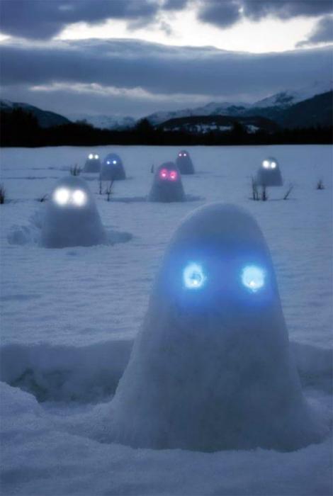 Армия снежных приведений.