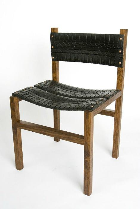 Новая жизнь старого стула.