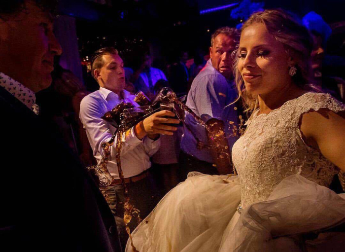 День свадьбы - самый счастливый день! | Фото: Fakten Guru.