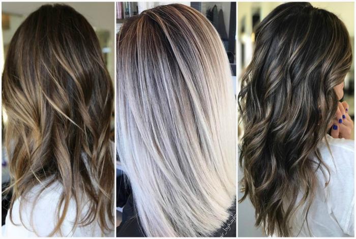 Балаяж - одна из самых популярных техник окрашивания волос.