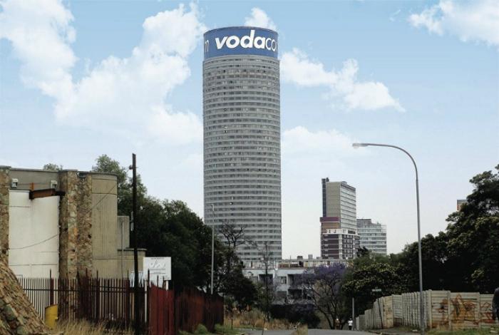 Жилой комплекс Понте Сити - самый высокий небоскреб в Африке.