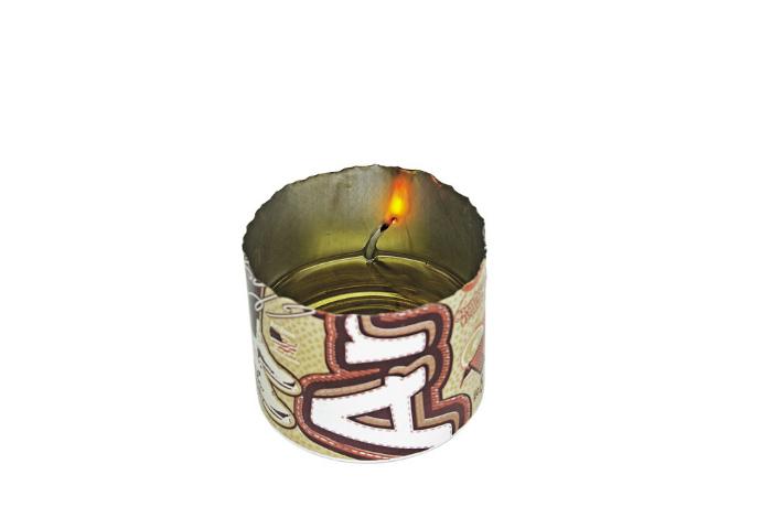 Фитиль для самодельной свечи.
