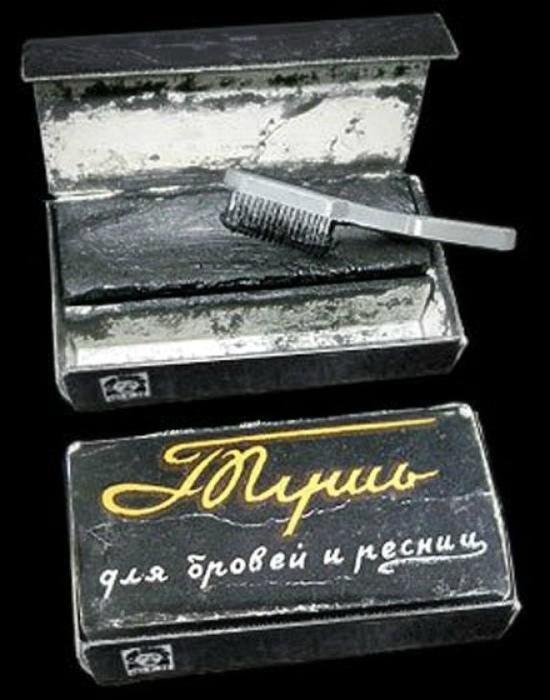 Тушь для бровей и ресниц «Ленинград».