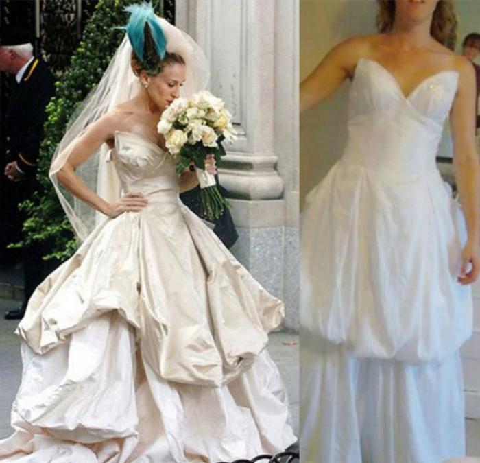 А-ля дизайнерское платье.