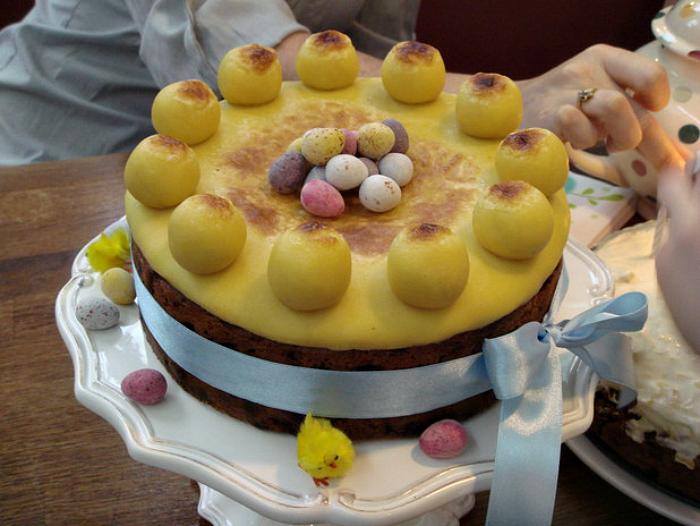 Марципановый торт.